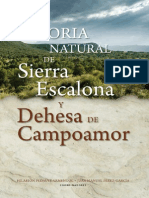 Historia Natural Sierra Escalona 2014