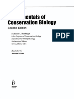 (4)Hunter,M.L. Jr. 2001 Fundamental of Conservation Biology Cap.1