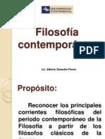 Tema 7. Filosofía Contemporanea