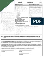 Roadtest Checklist (RI - DMV)