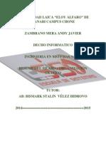 resumen silabo y organizador grafico