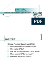 Guidelines EBM09