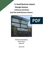 Walmart's Small Business Impact
