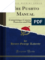 The Pushto Manual by Henry George Ravert