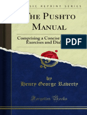The Pushto Manual by Henry George Ravert | Grammatical
