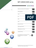 RICOH MP C2503 User Manual