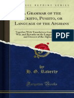 A Grammar of the Pukhto Pushto or Language of the Afghans by Henry George Ravert