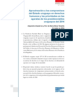 Los derechos humanos en los planes programáticos de los partidos políticos uruguayos en 2014