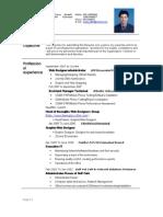 Designing Resume