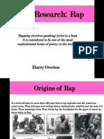 rap genre research presentation