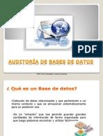 Auditoría de BD
