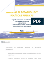 Derecho Al Desarrollo y Políticas Públicas Itziar Gómez