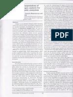 Method of Interpretations of Dissolved Oxygen Analysis for Assessing Aquatic Ecosystem