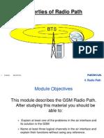 Radio Path Channels Bursts