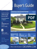 Coldwell Banker Olympia Real Estate Buyers Guide November 1st 2014