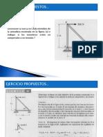 EJERCICIOS ARMADURAS - NUDOS