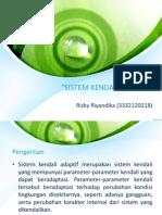 Rizky Riyandika ( 3332120218)- Sistem Kendali Adaptif