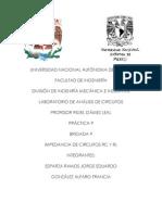 IMPEDANCIA DE CIRCUITOS RC Y RL