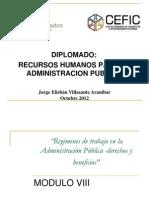 Recursos humanos para la administración publica