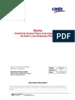NOR-016 E02 Control Acceso Físico Instalaciones 16012013
