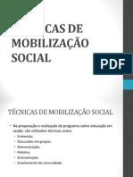 Aula 3 - Técnicas de Mobilização Social