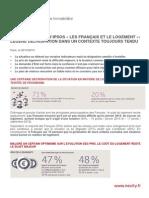 """Sondage Nexity/Ipsos """"les Français et l'immobilier"""""""