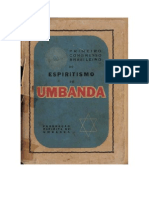 Federacao Espirita de Umbanda Primeiro Congresso Brasileiro