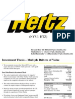Investment Idea - Hertz Forward