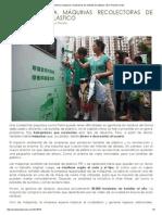 Pekín Estrena Máquinas Recolectoras de Botellas de Plástico _ Eco Planeta Verde