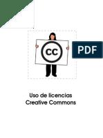 Uso de Licencias Creative Commons