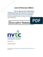NVTC Final Report to VA Executive Summary