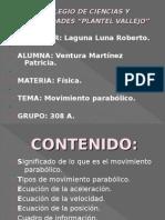 Presentacion Del Tiro Parabolico 1