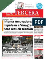 Diario La Tercera 30.10.2014