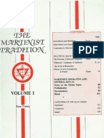 Louis Claude de Saint-Martin - Martinist Tradition - Vol. 1