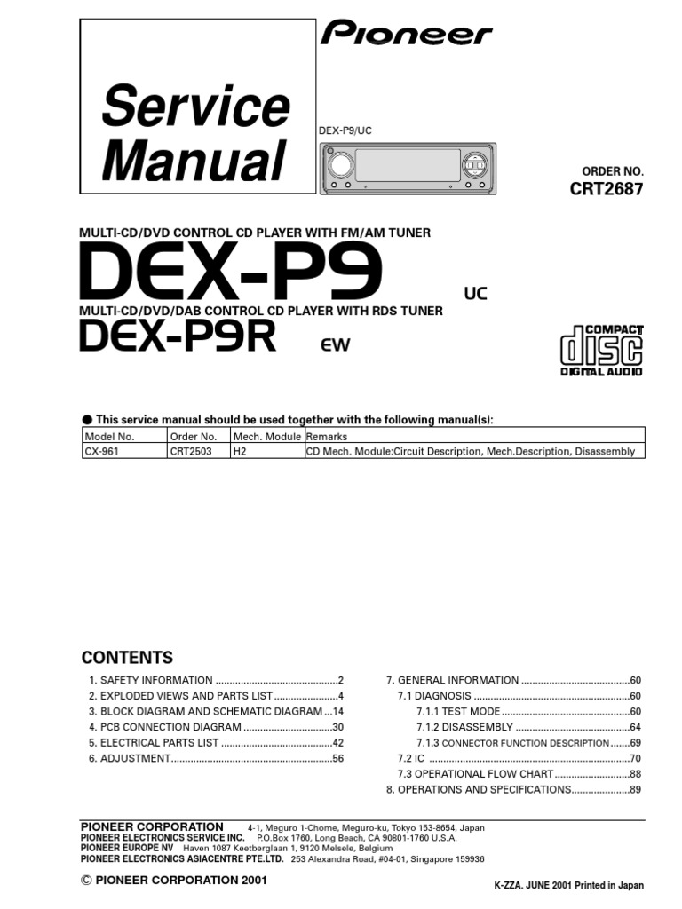 Pioneer-DeXP9 Car Radio | Electrical Connector | Inductor