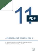 Administración de Sitiso Web II