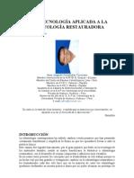 NANOTECNOLOGÍA APLICADA A LA ODONTOLOGÍA RESTAURADORA - Sr. Juan A. Fernández Tarazona