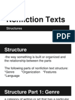 nonfiction structure