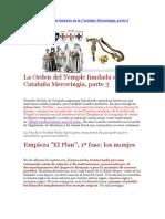 La Orden Del Temple Fundada en La Cataluña Merovingia