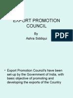 Export Promotion Council