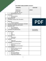 Senarai Semak Sebelum Mppb Jun 2014