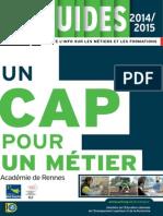 un cap pour un mtier - 2014-2015