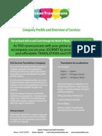 Ocean Translations Company Profile - Latin American Language Provider