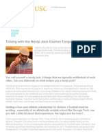 Ucap @ Usc • Talking With a Nerdy Jock, Osahon Tongo