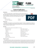 Natural Indicator