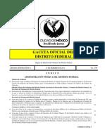 Gaceta Oficial Gdf Protocolo Accidentes de Trafico 14 Febrero 2014