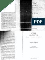 Boris Groys - Sobre lo nuevo - 1 Parte