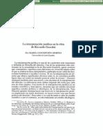 Dialnet-LaInterpretacionJuridicaEnLaObraDeRiccardoGuastini-142428