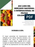 Análisis Del Mercado Nacional e Internacional de Frutas