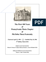 1st 100 Years, PA Theta, 4th Edition, Illustrated